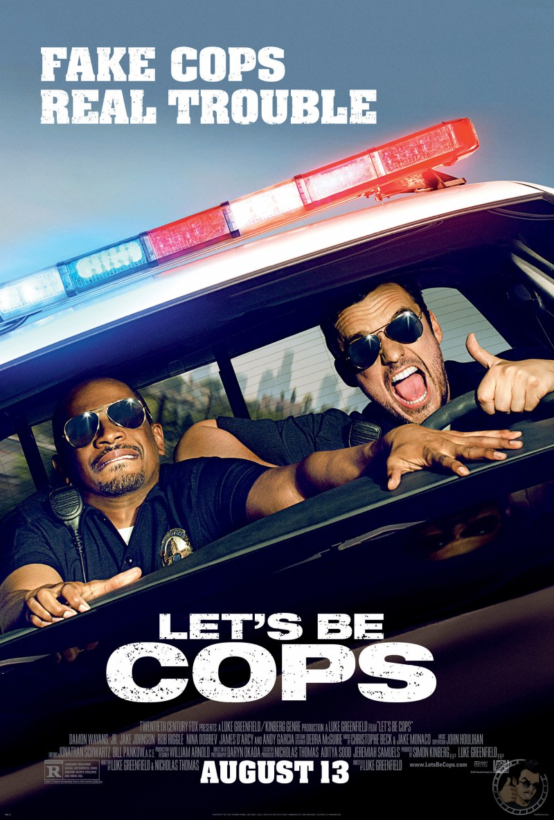Lets Be Cops Movie Poster 1