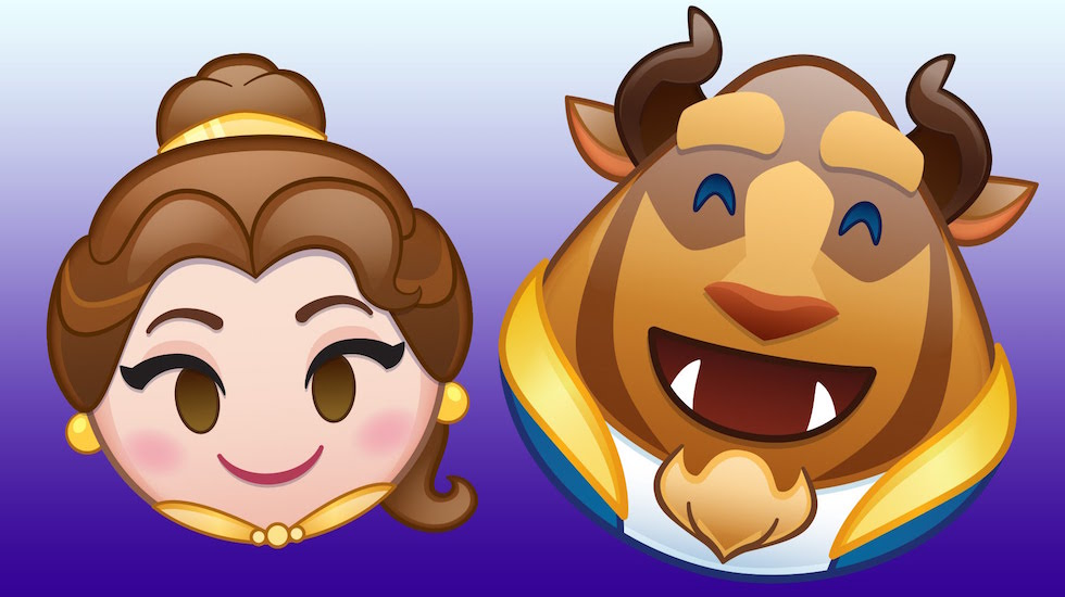 Beauty and the Beast emoji