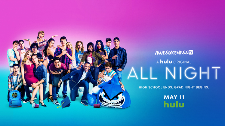New Comedy Series 'All Night' on Hulu - Jake Monaco